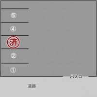 笹谷駐車場(1,2,4,5)